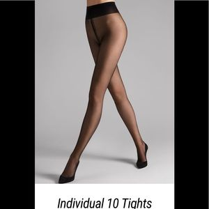 Wolford Accessories - NWOB WOLFORD Individual 10 Tights Black Medium